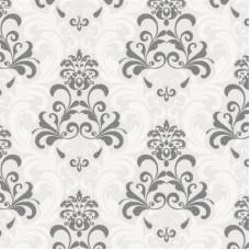 Forever 14908 Kabartmalı Füme Damask Desen Duvar Kağıdı