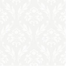 Forever 15101 Beyaz Damask Desenli Duvar Kağıdı