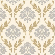 Forever 15103 Altın Dore Damask Desenli Duvar Kağıdı