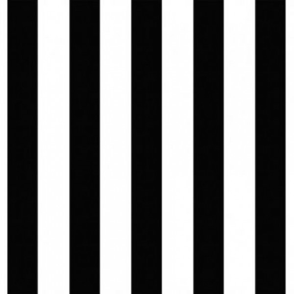 Forever 15243 Non Woven Siyah Beyaz Çizgili Duvar Kağıdı