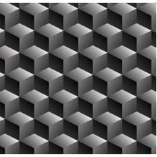 3D Art 7023 Basamak Desenli Duvar Kağıdı