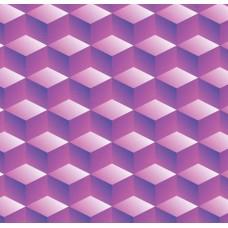 3D Art 7025 Küp Desenli Duvar Kağıdı