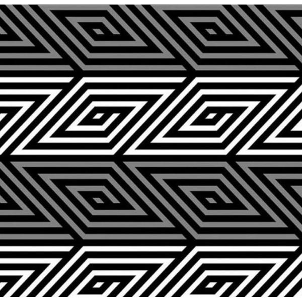 3D Art 7060 Geometrik Desenli Duvar Kağıdı