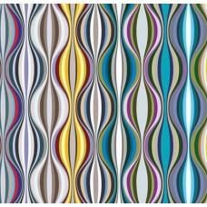 3D Art 7103 Rengarenk Elips Desen Duvar Kağıdı