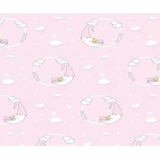 Grown Baby 101-1 Kız Bebek Odası Duvar Kağıdı