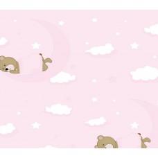 Grown Baby 105-1 Ayıcık Desen Bebek Odası Duvar Kağıdı