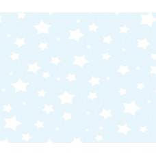 Grown Baby 106-2 Yıldız Desenli Erkek Çocuk Duvar Kağıdı