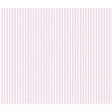 Grown Baby 110-1 İnce Pembe Çizgili Duvar Kağıdı