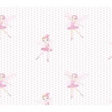 Grown Baby 120-1 Balerin Desen Çocuk Odası Duvar Kağıdı