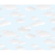 Grown Baby 137-1 Bulut Desenli Duvar Kağıdı