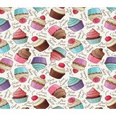 Grown Baby 138-1 Cupcakes Görünümlü Duvar Kağıdı