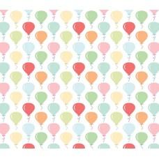 Grown Baby 146-1 Balon Görünümlü Non Woven Duvar Kağıdı