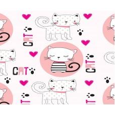 Grown Baby 150-1 Kedi Görünümlü Çocuk Odası Duvar Kağıdı
