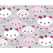 Grown Baby 150-2 Kitty Bebek Odası Duvar Kağıdı
