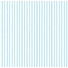 Floral Collection 5008 İnce Mavi Çizgili Duvar Kağıdı
