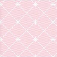 Floral Collection 5023 Pembe Baklava Desenli Duvar Kağıdı