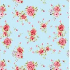 Floral Collection 5032 Gül Görünümlü Non Woven Duvar Kağıdı