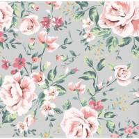 Floral Collection 5070 Non Woven Çiçek Desenli Duvar Kağıdı