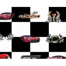 Kids Club 201-2 Racing Çocuk Odası Duvar Kağıdı