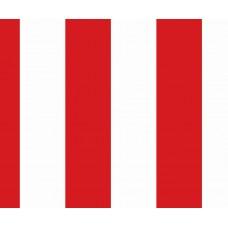 Kids Club 203-1 Kırmızı Çizgili Non Woven Duvar Kağıdı