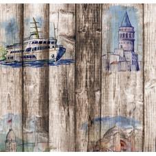 Pop Art 512012 Galata Kulesi Duvar Kağıdı
