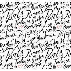 Pop Art 512019 Paris Yazılı Genç Odası Duvar Kağıdı