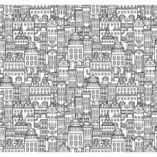 Pop Art 512021 Bina Desenli Genç Odası Duvar Kağıdı