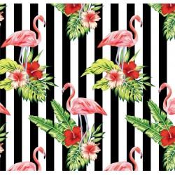 Pop Art 512094 Flamingo Desenli Duvar Kağıdı