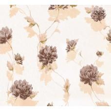 Halley Fashion 222 Kahve Çiçekli Duvar Kağıdı