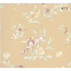 Halley Fashion 473 Çiçek Görünümlü Duvar Kağıdı