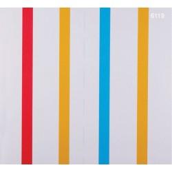 Kids Dream 6119 Çok Renkli Çizgili Duvar Kağıdı