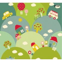 Kids Dream 6134 Bebek Odası Duvar Kağıdı