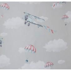 Happy Kids 1852 Uçaklı Çocuk Odası Duvar Kağıdı