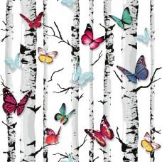 Jet Setter 102529 Renkli Kelebek Desenli Duvar Kağıdı