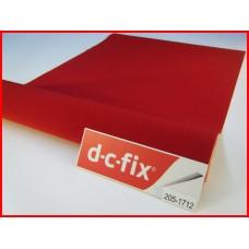 d-c-fix 205-1712 Kırmızı Kadife Yapışkanlı Folyo