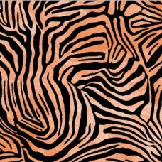 d-c-fix 290-0200 Kabartmalı Zebra Desen Kadife Folyo