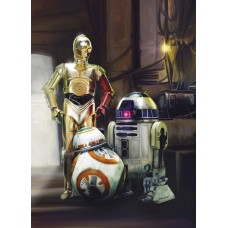 Komar 4-447 Star Wars Three Droids Duvar Posteri