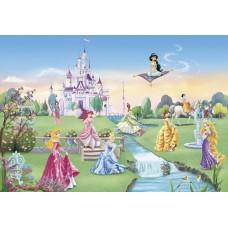 Komar 8-414 Disney Princess Castle Çocuk Odası Duvar Posteri