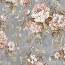 Nadia 9713-3 Vinil Çiçekli Duvar Kağıdı