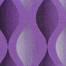 Nadia 9722-4 Mor Geometrik Desenli Duvar Kağıdı