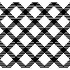 New Selection 312-1 Siyah Beyaz Kare Desenli Duvar Kağıdı