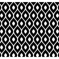 New Selection 313-1 Siyah Damla Desenli Duvar Kağıdı