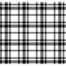 New Selection 325-1 Siyah Beyaz Ekose Desenli Duvar Kağıdı