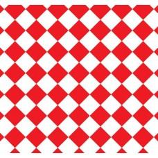 New Selection 331-7 Kırmızı Baklava Desenli Duvar Kağıdı