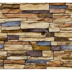 New Selection 362-1 Non Woven Taş Desenli Duvar Kağıdı