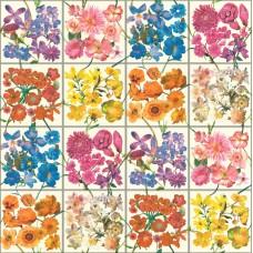 Tiles & More XIV 303407 Çiçek Desenli İthal Duvar Kağıdı