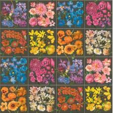 Tiles & More XIV 303414 Çiçek Görünümlü Duvar Kağıdı