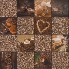 Tiles & More XIV 303711 Kahve Temalı Pop Art Duvar Kağıdı