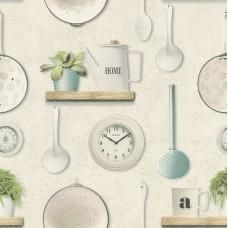 Tiles & More XIV 307108 Mutfak Temalı Duvar Kağıdı