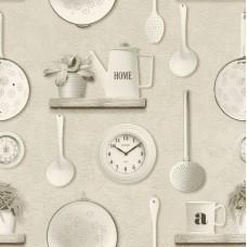 Tiles & More XIV 307115 Mutfak Temalı Pop Art Duvar Kağıdı